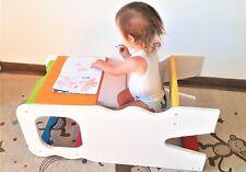Jokeonwood Learning tower torre di apprendimento montessori tavolino con seduta