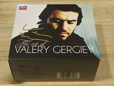 Signed by VALERY GERGIEV The Art of Valery Gergiev DECCA 12 CD BOX Signiert