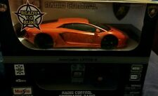 R/C MAISTO TECH 1:24 LAMBORGHINI AVENTADOR LP700-4 orange 81057