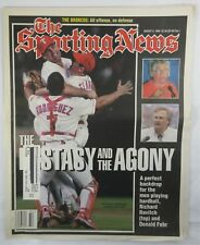 THE SPORTING NEWS Newspaper MLB KENNY ROGERS PERFECT GAME Aug 1994 MAGAZINE
