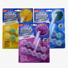 Max CHASSE 5 toilette Rim Block Nettoyeur Mixte Lot de 3 (Twin Pack)
