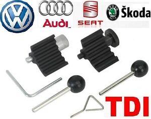 Audi A5 Q5 2.0 TDI PD VAG Diesel Engine Fitting Crankshaft Timing Lock Tool Set