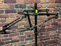 OLD SCHOOL BMX MX FRAME FREESTYLE LEADER CANADA BMX MX FRAME BLACK FRAMESET