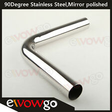 "2.5"" 63MM 90 DEGREE INTERCOOLER PIPING STAINLESS STEEL MANDREL BEND L=610MM"