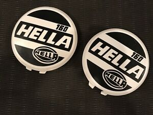 Genuine Hela 160 Covers, NOS, Universal To Work With Any Round Lights 16cm, Rare
