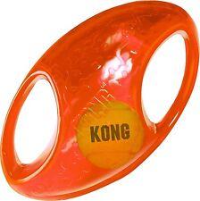 KONG Jumbler Football Loud Squeak Fetch Interactive Dog Toy MD/LG