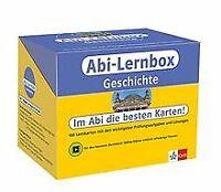Klett Abi-Lernbox Geschichte: 100 Lernkarten mit den wic... | Buch | Zustand gut