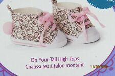 American Girl On Your Tail High-top Shoes Brand New In Box No Longer Available!