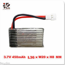 3.7V 400mAh 20C Lipo Battery for Walkera QR Ladybird V2 4#3B 4G6 4#6 LAMA2 CB100