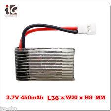 3.7V 400mAh 20C Lipo Battery for Walkera QR Ladybird V2 4#3B 4G6 4#6 LAMA2 CB100