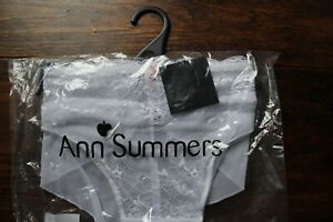 Ann Summers White Knickers Size 24 New with Tags Sexy Lace Range Brief EU 50