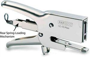 """Rapesco Heavy-Duty 73 Packaging Plier Stapler, Uses 73 Type 1/4""""-1/2"""" Staples"""