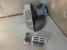 Audi TT 8N 98-06 MK1 Quattro DSG V6 auto pedal set brushed alloy full set