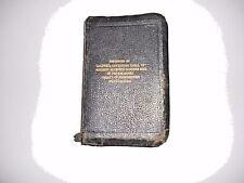 Holy Bible-Self Pronouncing Freemasonary Bloomsburg Pa Caldwell Consistory 1837