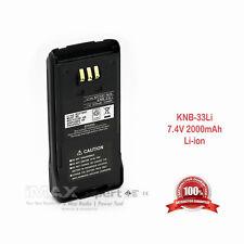 2000mAh KNB-33L Li-Ion Battery KENWOOD NX-410 NX-411 TK-2180/3180 TK-5210G/5310G