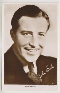 Cinema Star postcard - John Boles - (A4)