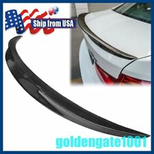 US Carbon Fiber Rear Spoiler Wing Trunk For BMW F30 320i 328i 335i 2013-2016 GG