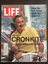 LIFE MAGAZINE MARCH 26, 1971 WALTER CRONKITE HOW THE U.S. ARMY SPIES ON CITIZENS