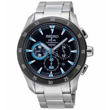 Seiko Criteria Chronograph Solar Men's Watch SSC181P1