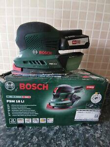Bosch Power 4 all 18V 2.5Ah Cordless Multi sander PSM 18 Li