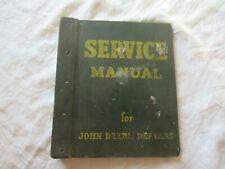 1974 John Deere 100 lawn garden tractor service manual w/hard cover JD binder
