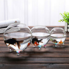 Clear Transparent Glass Vase Fish Tank Succulents Planter Terrarium Home Decor