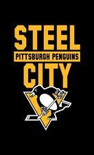 Pittsburgh penguins STEEL SITY Memorable flag90x150cm 3x5ft best banner 100D