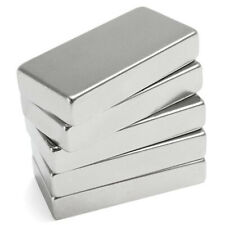 Super Strong Block Cuboid Rectangle Magnet 50x25x10mm Rare Earth Neodymium N52