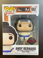 FUNKO POP THE OFFICE ANDY BERNARD SUMO SUIT 1061 SPECIAL EDITION EXCLUSIVE