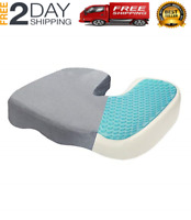 Seat Cushion Gel Pillow Cooling for Sciatica Prostate Tailbone Hemorrhoid Chair
