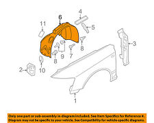 AUDI OEM 05-08 A6 Quattro-Front Fender Liner Splash Shield Right 4F0821134H