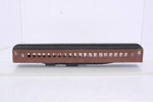 Wood Cardstock HO Scale Built Craftsman Kit Passenger Car Parts or Repair