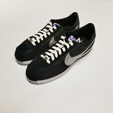 "Nike Cortez ""Los Angeles"" CI9873-001 Size 8.5 Sneakers Black Silver White"