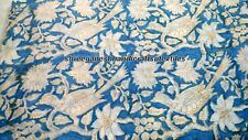 """Indian Cotton Hand Block Print 45"""" Wide Crafting Sewing Fabric New  Design G"""