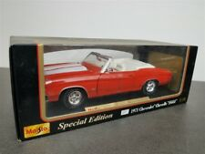 1971 Chevrolet Chevelle SS 454 Convrt Die Cast 1/18 By Maisto Red 31883