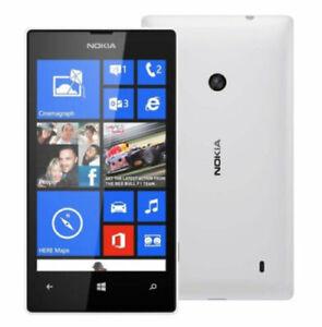 NOKIA 520 WINDOWS PHONE WHITE UNLOCKED NEW OTHER CONDITION