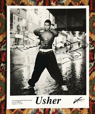 Usher Promotional Photo Signed In-Person