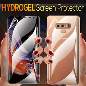 For Samsung Galaxy S21 S20 S10 S8 S9 Plus Note 8 9 10+ HYDROGEL Screen Protector