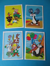 VINTAGE COLLECTION 4 SCHOOL NOTEBOOKS LOONEY TUNES CHARACTERS WARNER BROS