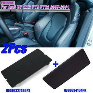 For Audi TT MK2 TTS Center Console Phone Holder Replacement Cover + Insert Mat