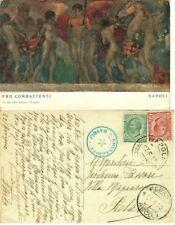 GG317-PRO COMBATTENTI- NAPOLI, 1° G.M., IST. ITAL. D' ARTI GRAFICHE-BERGAMO,1919