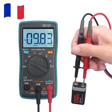 Mini multimètre numérique à plage automatique 6000 points TRMS compact portable