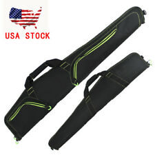 "52"" Scoped Rifle Soft Case Black Lining 210D/Polyester ShotGun Gun Case Bag"