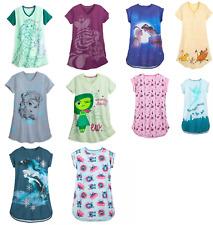 Disney Store Ladies Nightshirt Ariel Frozen 2 Stitch Elsa Jasmine Belle Tinker