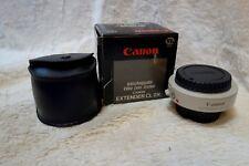 Canon extender CL 2x para montaje VL, Película. en Caja Como Nuevo 2 X dobles