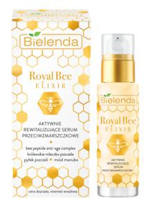 Bielenda Royal Bee Elixir Active Revitalising Anti-Wrinkle Face Serum 30ml