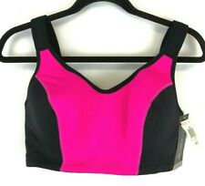 Ideology Women's Black and Pink Sports Bra Size 40D New with Tags