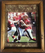 1997 Donurss studio class of distinction Steve Young 8 X 10 in frame!!!