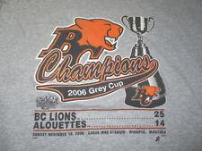 Grey Cup CFL Fan Shirts