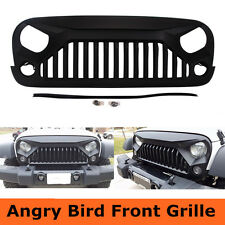 Front Angry Bird Gladiator Vader Grille for Jeep Wrangler JK 07-17 Black Color